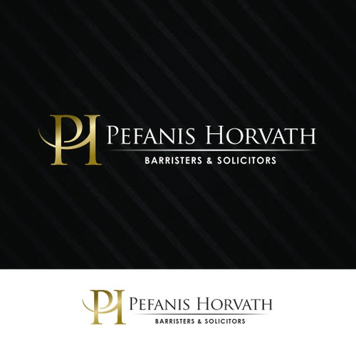 Help Pefanis Horvath Barristers & Solicitors with a new logo