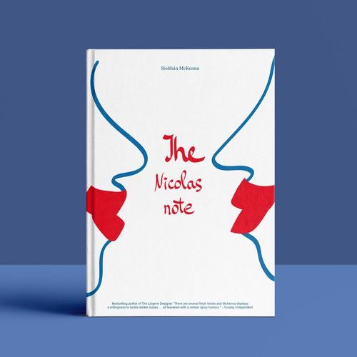 "design concept cover for a book ""The Nicolas Note""."
