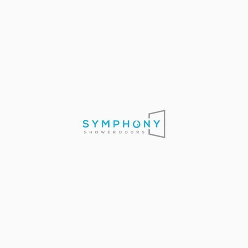symphony shower door