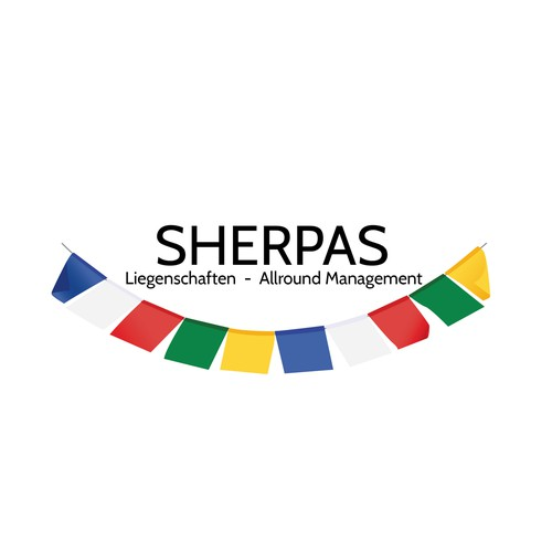 Hey there! Please help SHERPAS, a Swiss company, to find a professional logo..