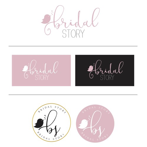 Wedding website needs a beautiful and memorable logo