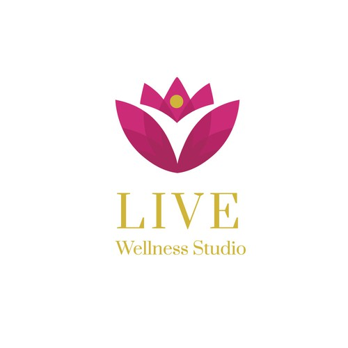 Logo for a wellness studio