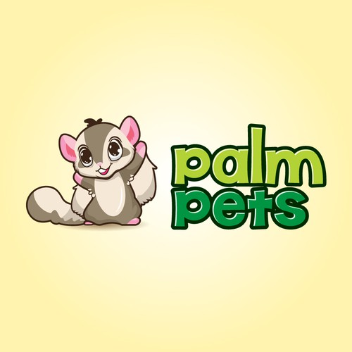 Palm Pets Character Logo