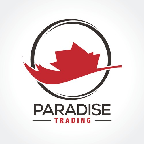 Create the next logo and business card for Paradise Trading