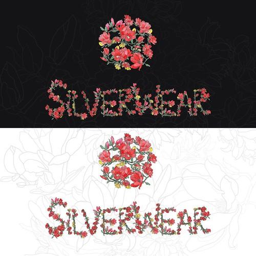 floral brand logo
