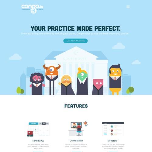 Web design and illustration