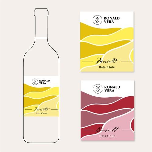 Label Design for the Wine Brand