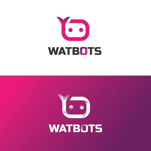 Logo for high tech startup developing autonomous robots