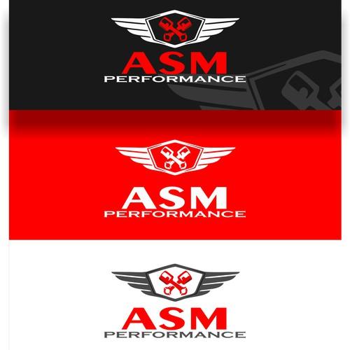 Asm logo concept for ASM PERFORMANCE