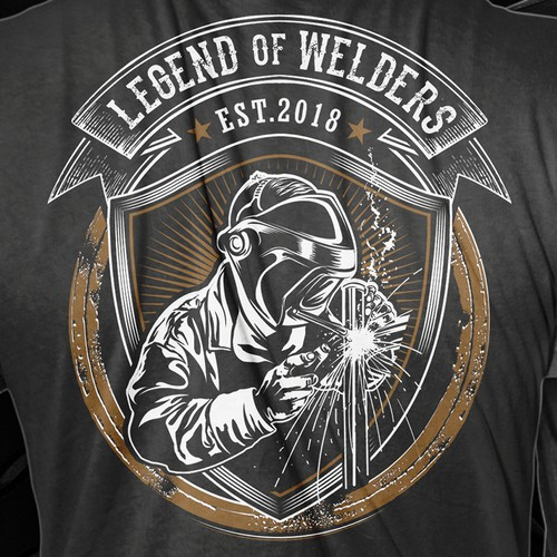 NLT welders shirt design.