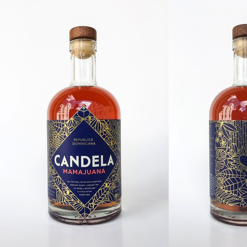 Candela - logo, branding and label design