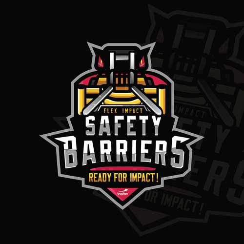 Safety Barriers Logo
