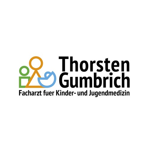 Unique Logo for a starting paediatric medical practice in an international community
