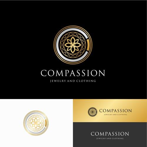 "logo for Wanderlust ""Compassion"""