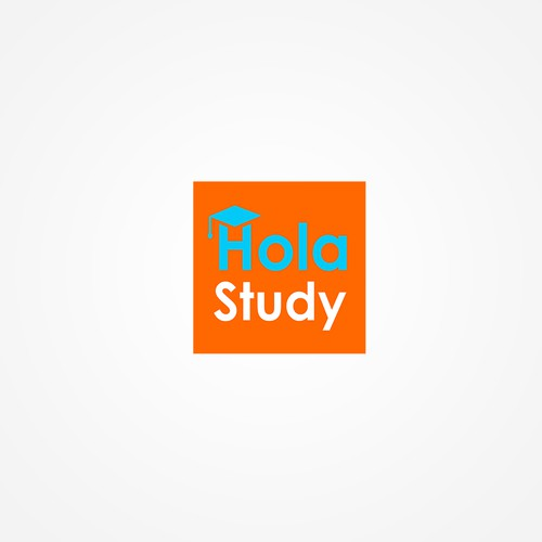 Logo design concept for HolaStudy