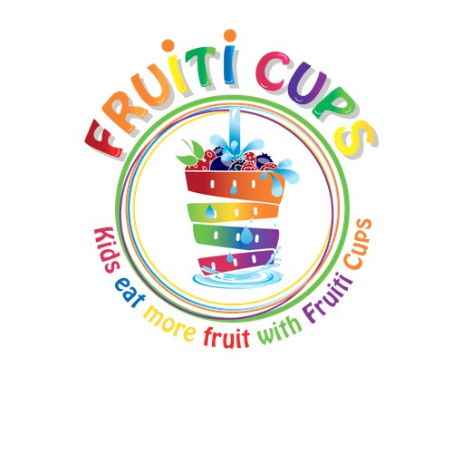 Kids fruit cups