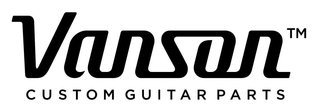 Vanson Custom Guitar Parts Logo required