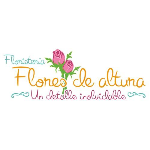 Create a flower shop logo design