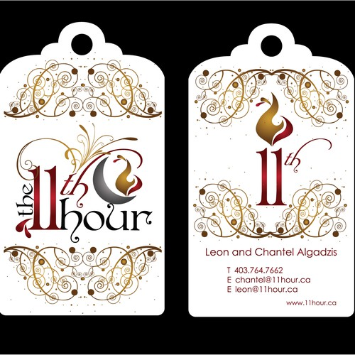 Luxury Gift Co. Requires Creative Business & Client Card