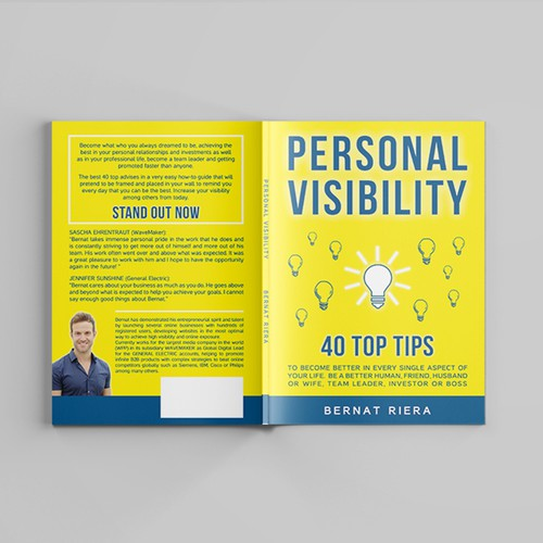 Self Development Book Cover: Personal Visibility