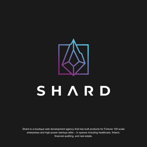 Sharp Logo Design for Shard