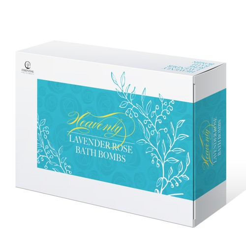 Bath bombs packaging contest winner
