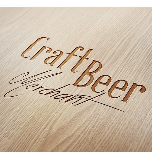 craft beer merchant logo