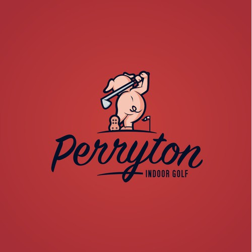 New Logo for Perryton Indoor Golf Facility or P.I.G.