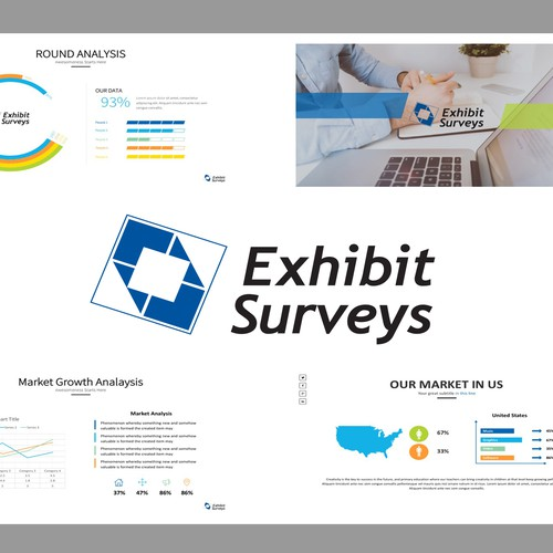 Business Presentation with charts