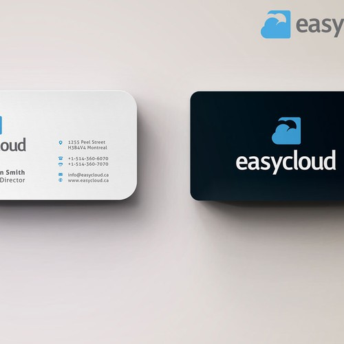 New business card wanted for Easycloud