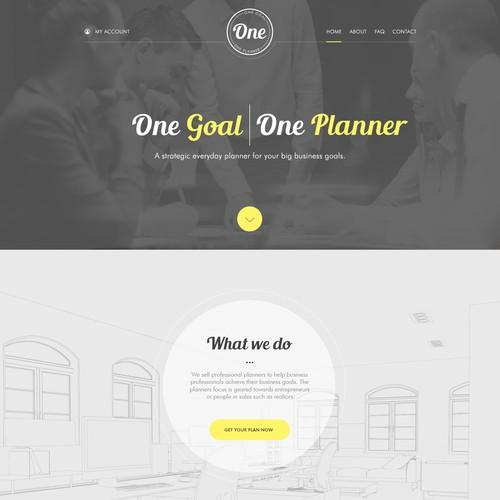 One Planner Website