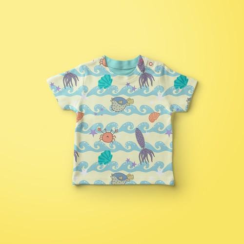 Children swimsuit design