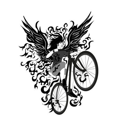 logo for biking clothes