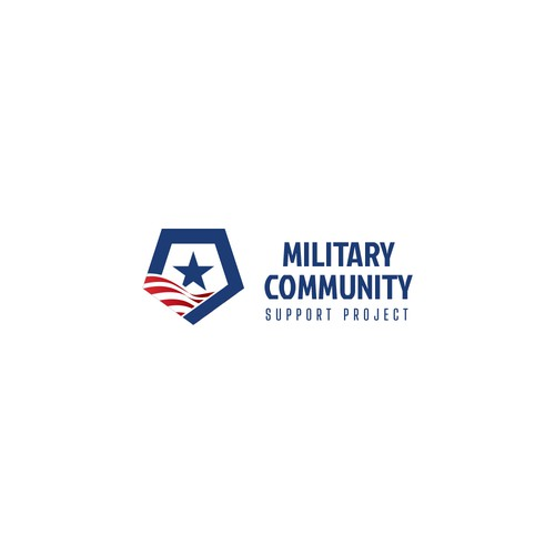 Logo for Military Community Support Project
