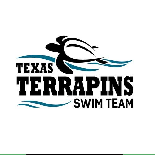 Logo for swimming team