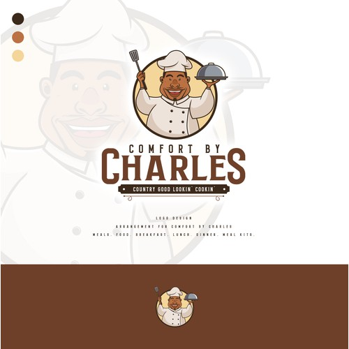 Logo design for Comfort by Charles