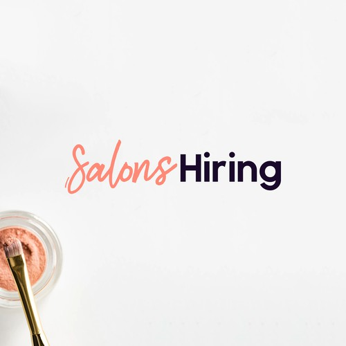 Timeless logo for SalonsHiring