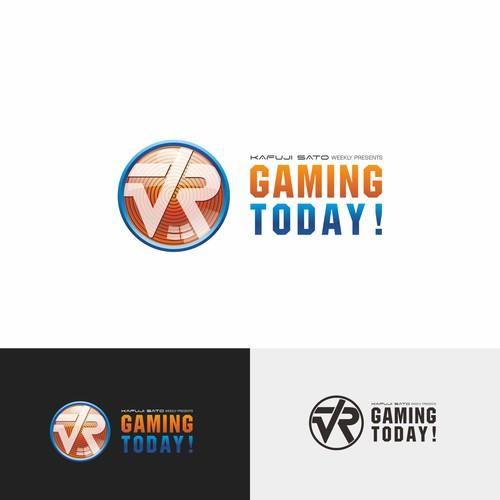 logo for VR GAMING