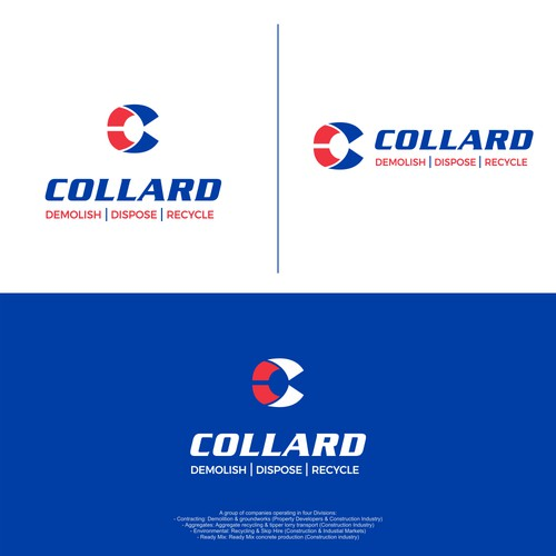 new logo for the Collard Group