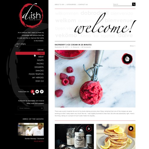 D-ish - Belgium Cooking Blog