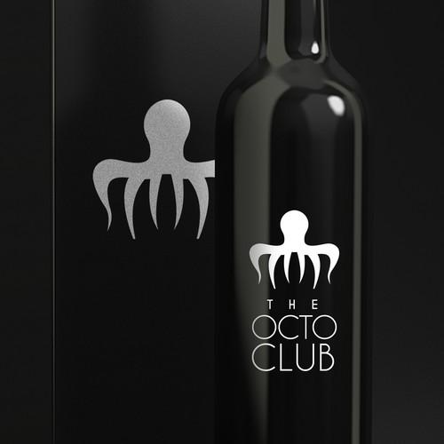 Fancy wine logo