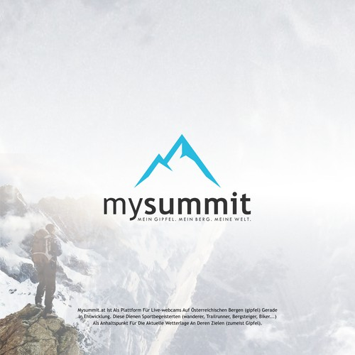 logo concept for mysummit