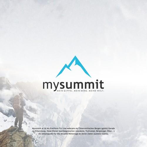logo concept for mysummit
