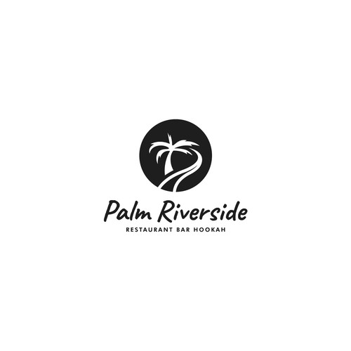 Creative logo for Palm Riverside