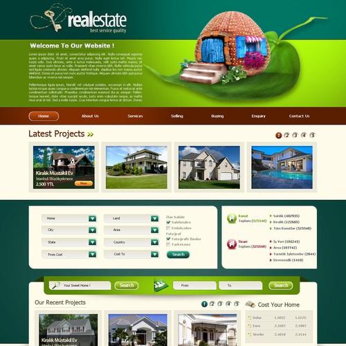 website design (2sites) for real estate agents