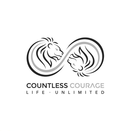 Logo for countless courage.