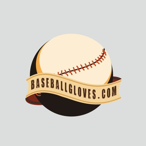 Logo Pair - Make this your next great portfolio piece!  BaseballBats.net & BaseballGloves.com