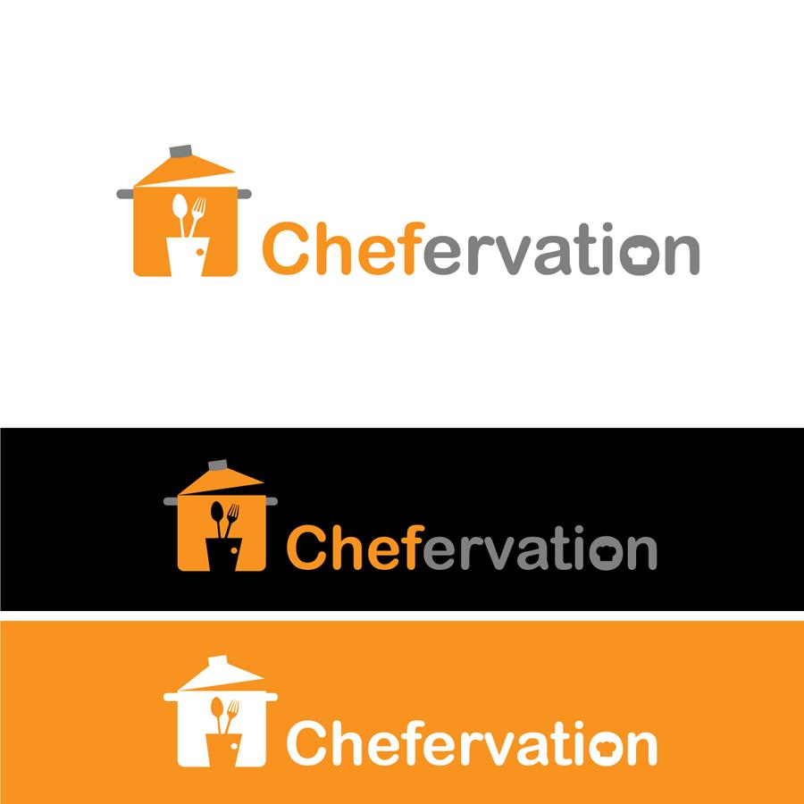 Chefervation needs a unique, brandable logo