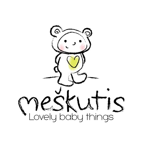 Logo for baby clothing store