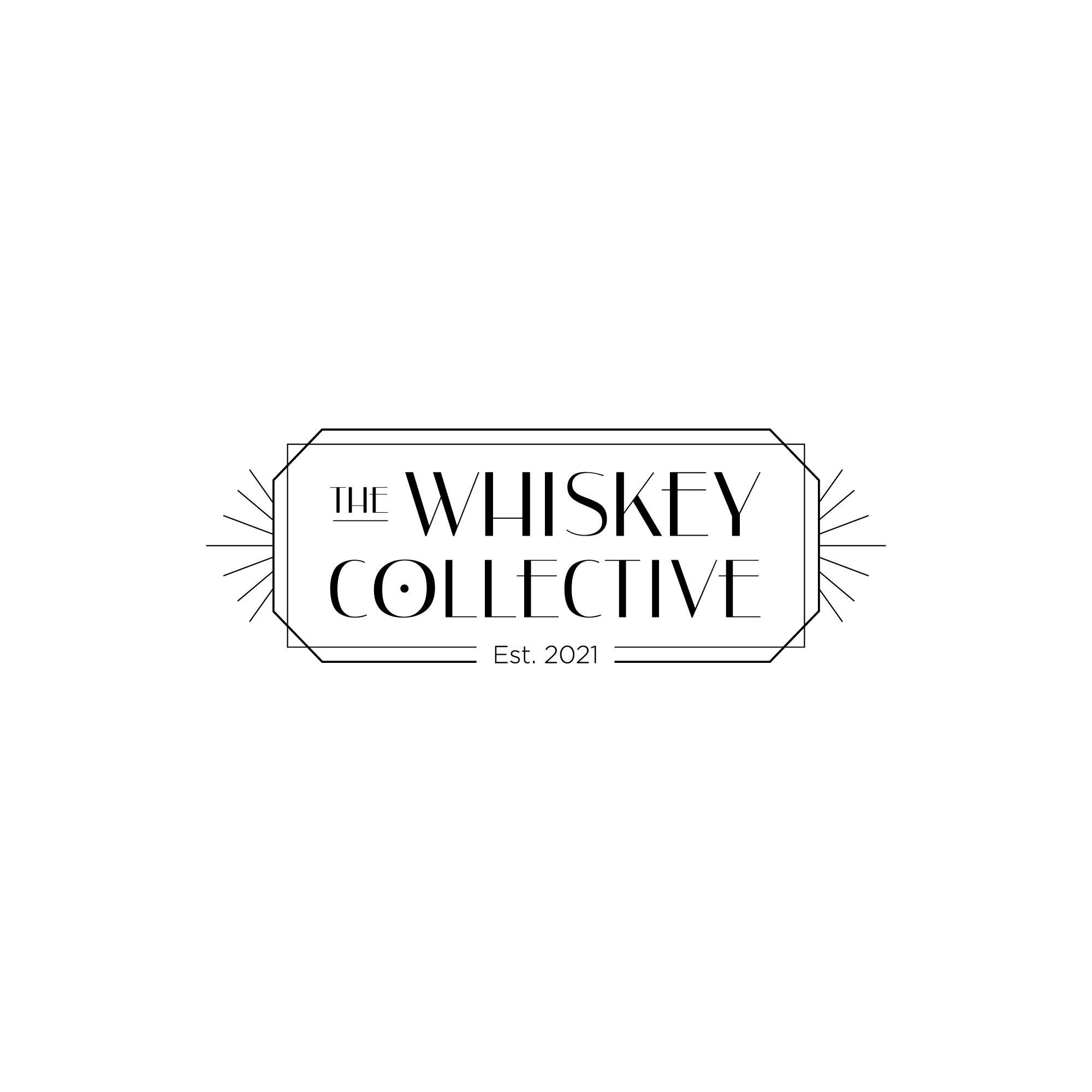 Logo for Prohibition era/art deco whiskey company